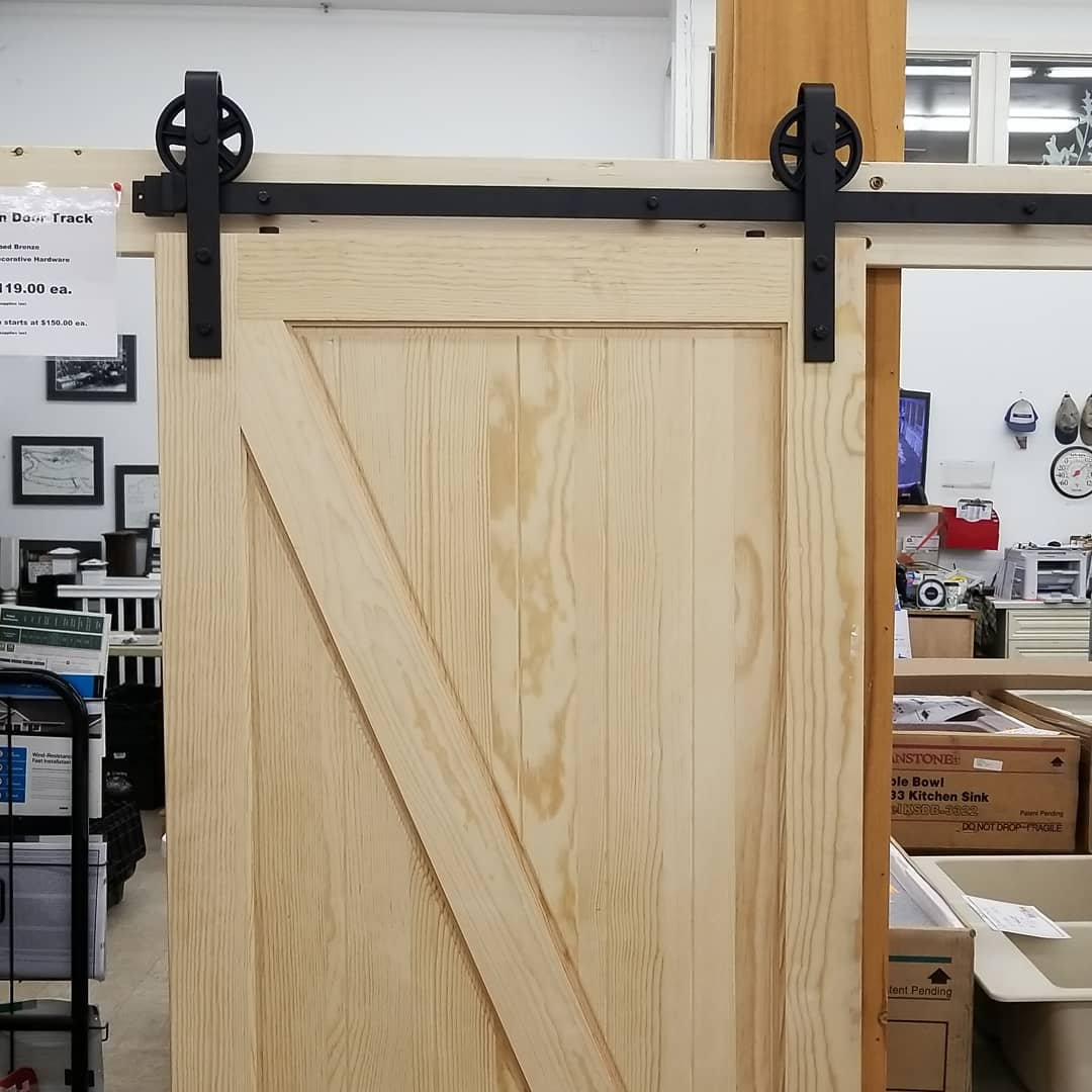 Barn #door track on sale now. Only $119 each