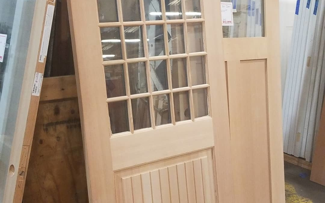 One of a kind 36″ x 80″ wood exterior #door  Only $395