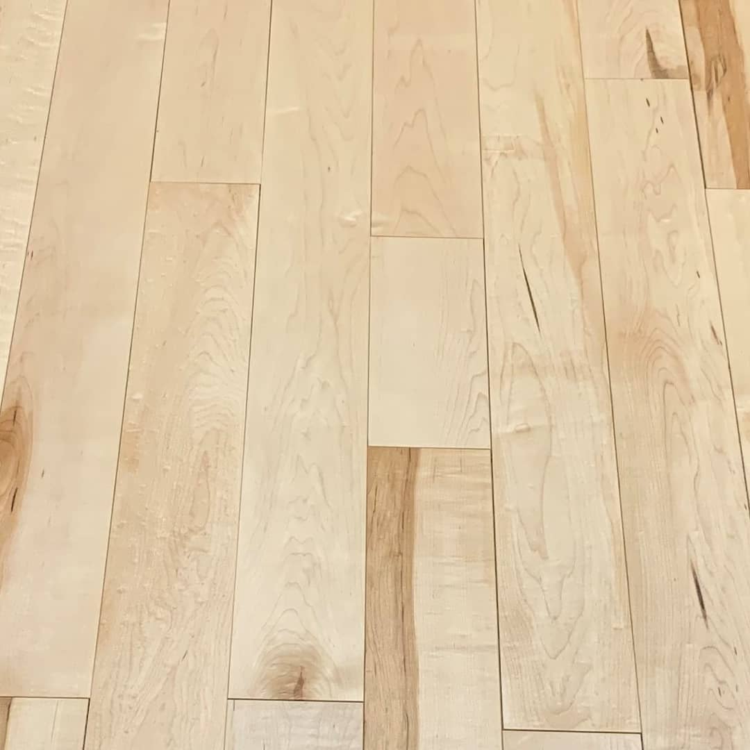 ***SALE*** 4 1/4″  Bistro Premium Pre-Finished Maple #Flooring  ONLY $4.75 per SQ FT  While supplies last