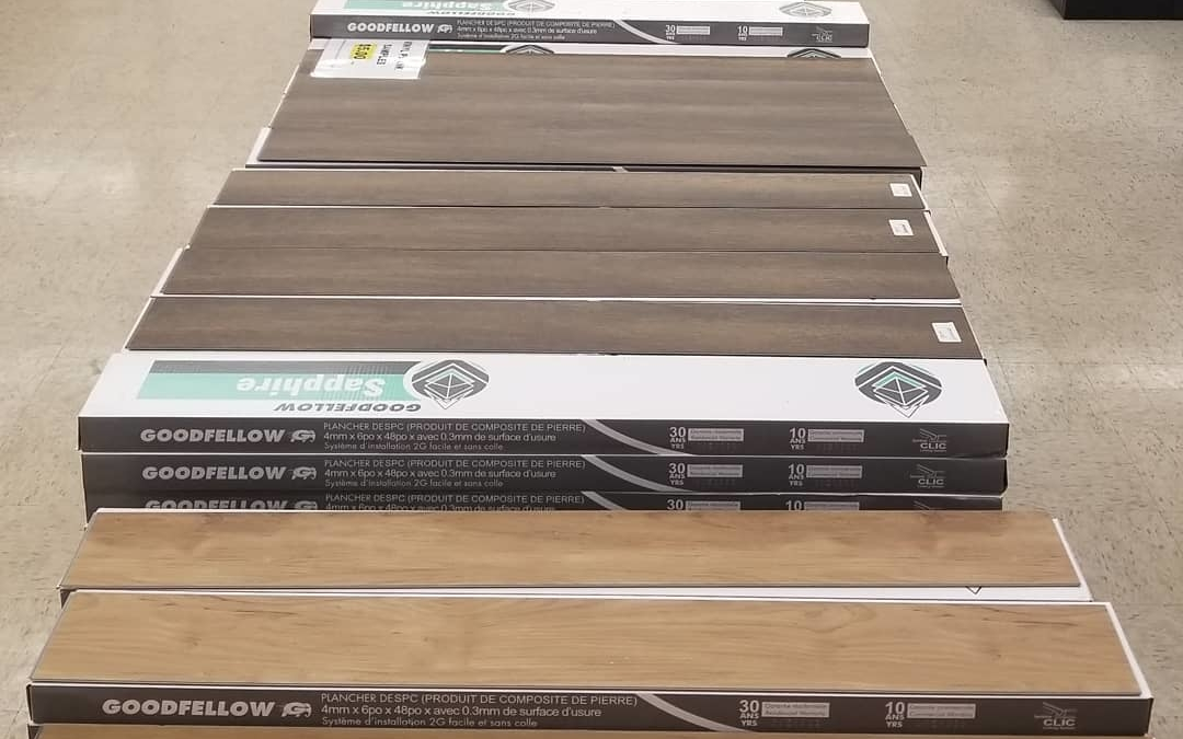 $1.75 per sq ft Vinyl plank #flooring 12 Mil wear layer  30 year warranty