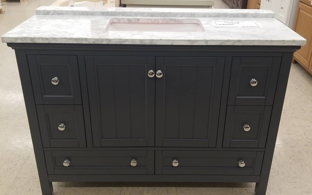 48″ Harbor Blue #vanity With top only $920.40