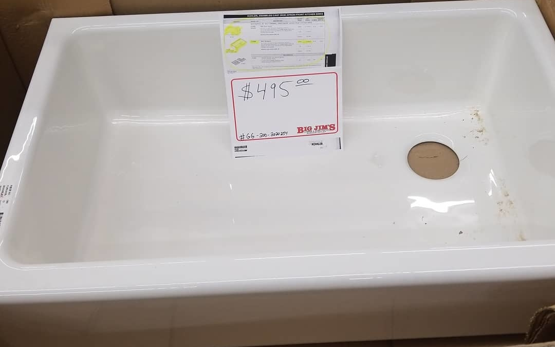 Kohler # 6489 Apron front #kitchen sink  ONLY $495 We only have this one.