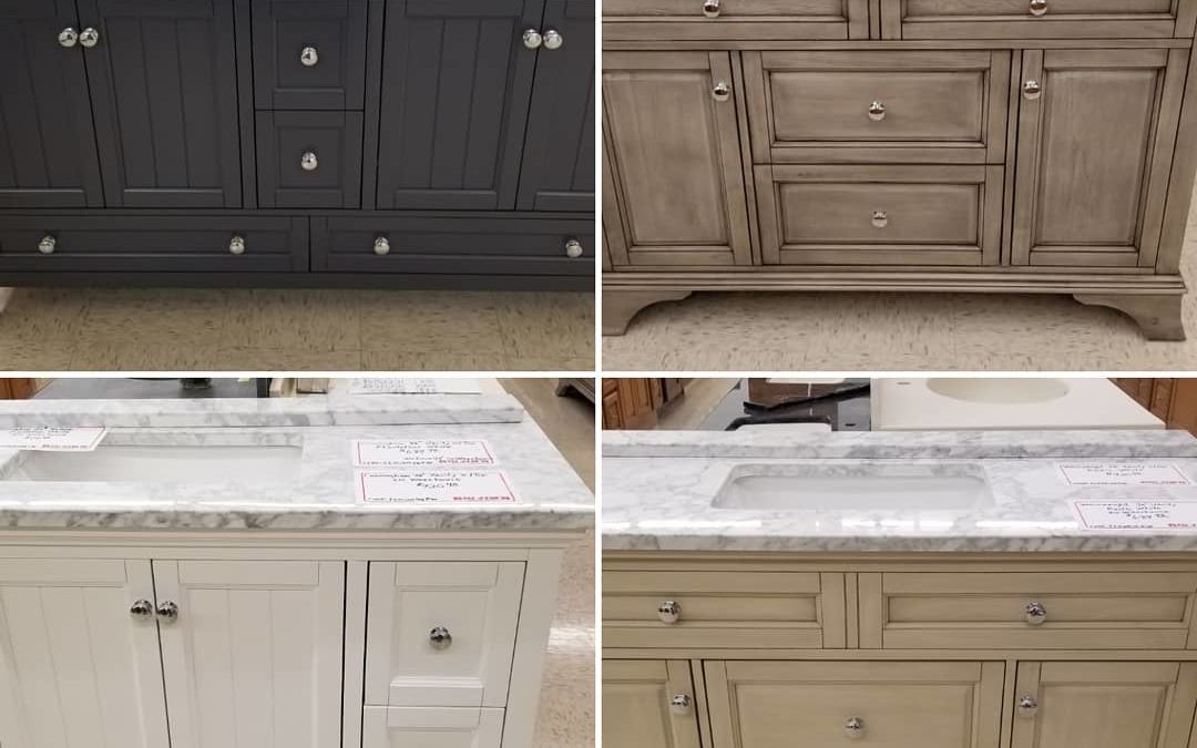 New style #vanities just arrived  Please call or stop in for pricing
