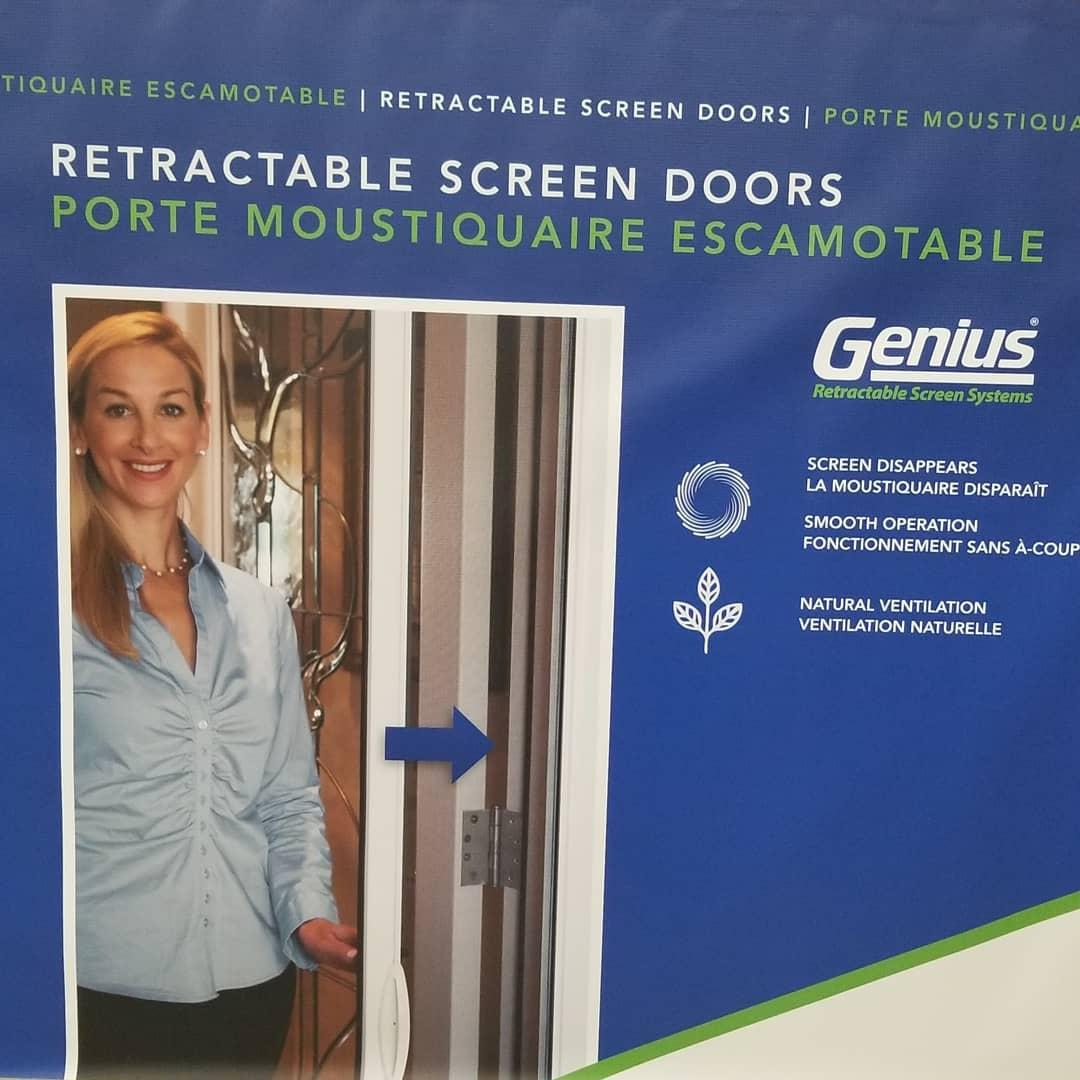 Retractable screen #doors.  Pallet sale!! Only $119.95