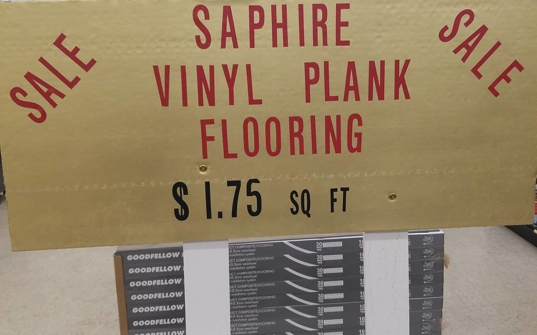 Vinyl plank #flooring  On sale now 6 colors to choose from 30 year warranty  Won't last long at these prices